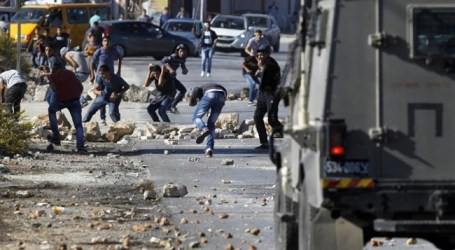 6 PALESTINIANS INJURED IN OVERNIGHT CLASHES IN RAMALLAH