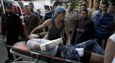 5 SHOT, INJURED, 1 CRITICALLY, IN GAZA CLASHES