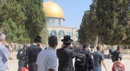 PALESTINIAN MK VISITS AQSA, SETTLERS ATTEMPT PRAYERS AT COMPOUND