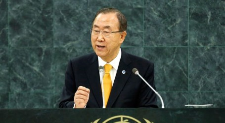 UN CHIEF URGES EGYPT, ISRAEL TO END GAZA SIEGE