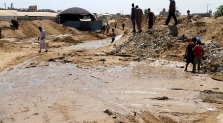 EGYPTIAN WATERWAY ALONG GAZA BORDERS THREAT TO BILATERAL TIES