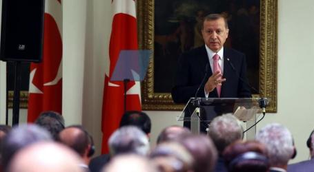 TURKISH PRESIDENT CALLS FOR REGIME CHANGE IN SYRIA