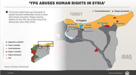 KURDISH YPG COMMITS DOING WAR AGAINTS TERRORISM