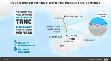 TURKEY SUPPLIES WATER TO NORTHERN CYPRUS