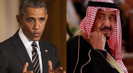 OBAMA, SAUDI KING SALMAN DISCUSS SYRIA, YEMEN