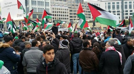 CONDEMNATION OF ISRAELI CRIMES IN GERMANY
