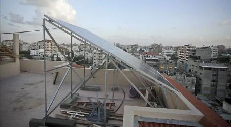 BLOCKADED AND FUEL-STARVED, GAZA LOOKS TO SOLAR ENERGY