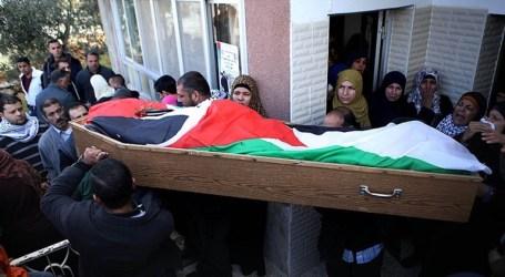 THOUSANDS BID LAST FAREWELL TO SLAIN PALESTIANS IN GAZA, RAMALLAH