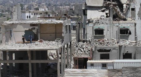 QATARI AMBASSADOR ARRIVES IN GAZA