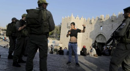 Damascus Gate Sets Scene for Israeli Abuse