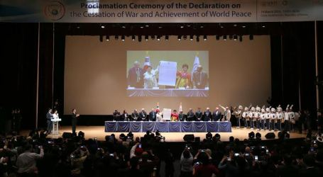 HWPL: The Declaration of Peace to Embrace The New Era and New Life Full of Peace