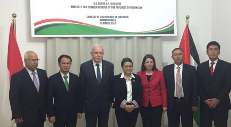 Indonesia Honorary Consul in Palestine Officially Inaugurated