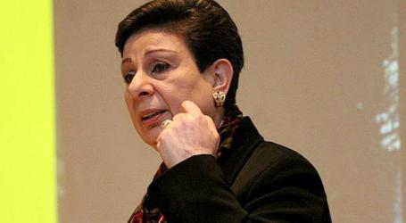 Ashrawi Lauds Work of Human Rights Watch