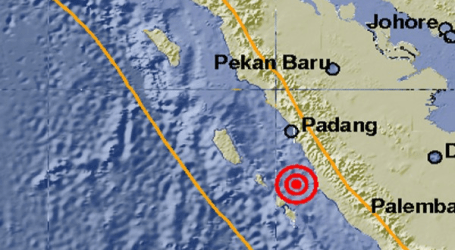 Earthquake 6.5 Magnitude  Hits Indonesia W. Sumatra