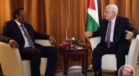 Abbas Lays Cornerstone for Palestinian Embassy in Sudan