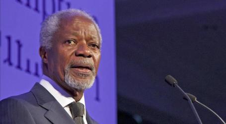 Kofi Annan to Visit Rakhine State