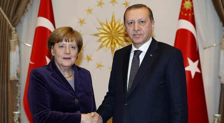 Erdogan, Merkel Discuss Syiria