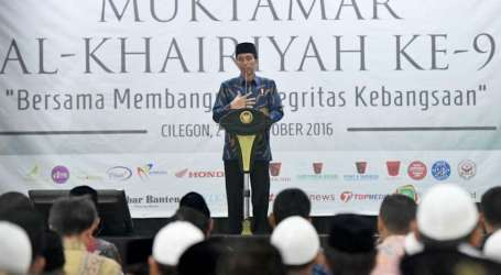 Presiden Jokowi Hails Islamic Schools for Producing Human Resources with Integrity