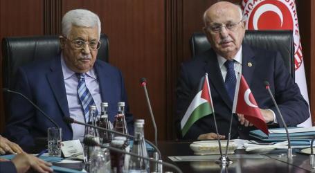 Palestinian President Visits Turkish Parliament