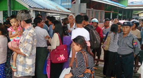 Residents Head Back to Myanmar's Maungdaw as Fighting Subsides