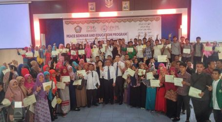 IPYG Opened a Seminar of Peace with Youth in Medan