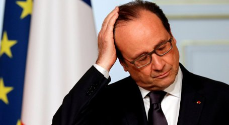 Hollande Supports Paris Talks on Mideast Peace but Remains Realistic