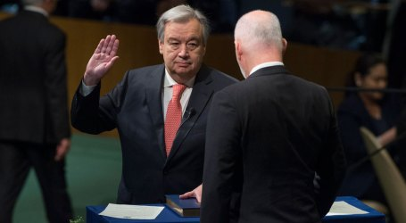 New UN Chief Guterres Pledges to Make 2017 'A Year For Peace'