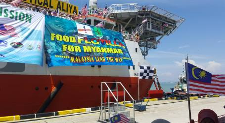 Nautical Aliya Docks on Thursday, Food Flotilla Mission a Success