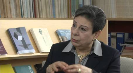 Ashrawi of PLO Urges Slovenia to Recognize State of Palestine