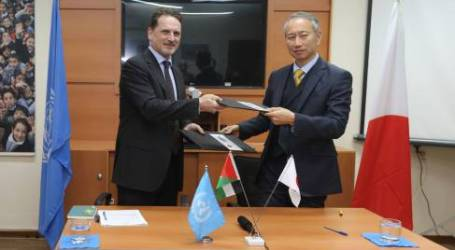 Japan Contributes $28.4 Million to UNRWA in Support of Palestine Refugees