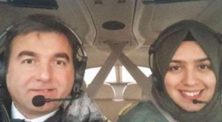 First Veiled Female Flies A Warplane In Turkey