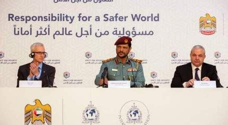 UAE Pledges €50 Million for Interpol to Counter Terrorism
