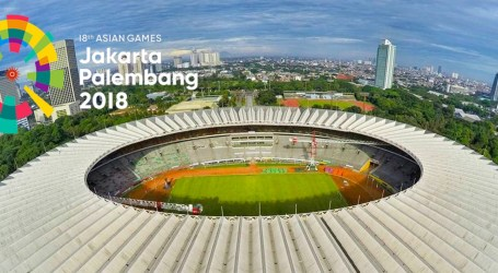 Asian Games in Indonesia to Feature 39 Sports