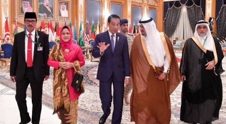 King Salman Receives Congratulatory Phone Call from Jokowi