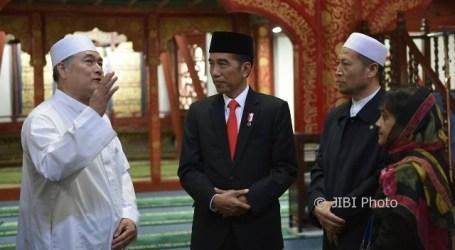 Jokowi Second Indonesian President to Visit Niujie Mosque