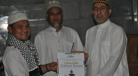Imam of Al-Aqsa Leads Tarawih Pray At Bali's Al-Muhajirin Mosque