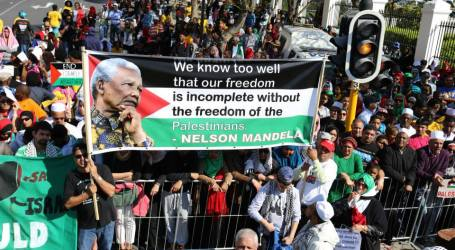 South Africans Stand in Solidarity with Al-Aqsa Muslims