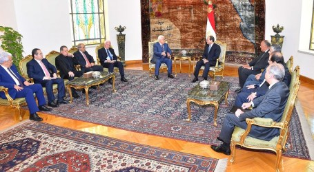 El-Sisi Affirms Egypt's Efforts To Find Just Solution To Palestinian Cause