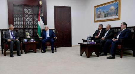 Hamas Delegation Meets with Abbas in Ramallah