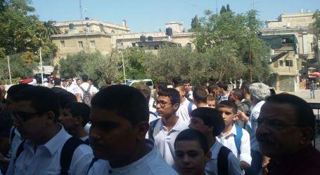 Israeli Forces Ban 160 Palestinian Students Acceses Into Al-Aqsa School
