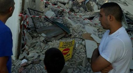 Israel Razes Palestinian House in Lod City