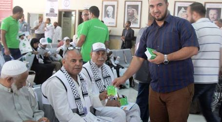 Last Batch of Gazan Pilgrims Leaves Gaza for Hajj