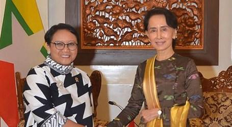Suu Kyi Welcomes Indonesia`s Proposal to Resolve Rohingya Humanitarian Crisis