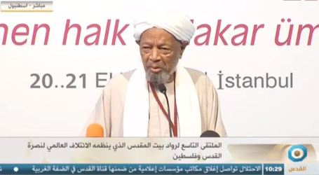 9th Beit Al-Maqdis Conference Kicks off in Istanbul