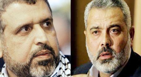 Haneyya and Shallah Discuss Response to Deir Al-Balah Crime