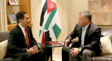 King of Jordan, Indonesia's Counter-Terrorism Agency Chief Discuss Cooperation