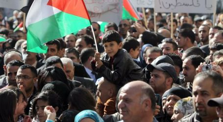 Palestinians Rally in Ramallah to Speed up Reconciliation