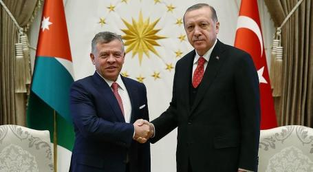 Erdogan, Jordan King Discuss Jerusalem Over Phone