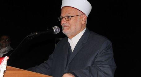Sabri Calls for Continuing Intifada Against Trump's Decision