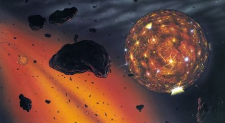 Space Diamonds 'Came From Lost Planet'